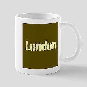 London (Khaki/yellow) Mug