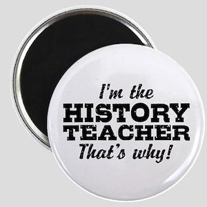 History Teacher Magnet