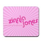 Zinnia Jones mousepad