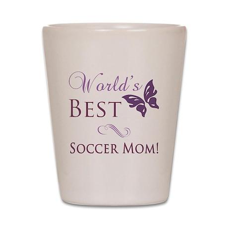 World's Best Soccer Mom Shot Glass