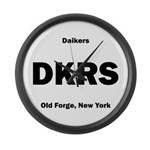Daikers Euro Large Wall Clock