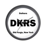 Daikers Euro Wall Clock