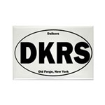 Daikers Euro Rectangle Magnet (100 pack)