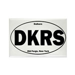 Daikers Euro Rectangle Magnet (10 pack)