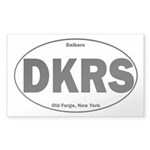 Daikers Euro Sticker (Rectangle 10 pk)