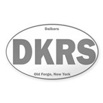 Daikers Euro Sticker (Oval 50 pk)
