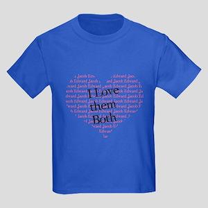 I love them both Kids Dark T-Shirt