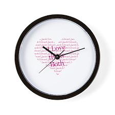 I love them both Wall Clock