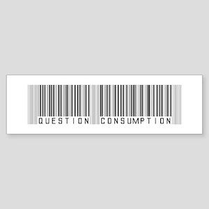 Question Consumption Sticker (Bumper)