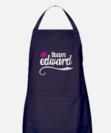 Team Edward Apron (dark)