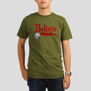 Believe Organic Men's Dark T-Shirt