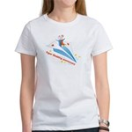 On Paper Plane Women's T-Shirt