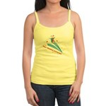 On Paper Plane Jr. Spaghetti Tank