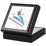 On Paper Plane Keepsake Box