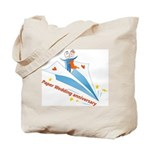 On Paper Plane Tote Bag