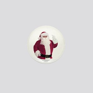 Merry Christmas - Dark Mini Button
