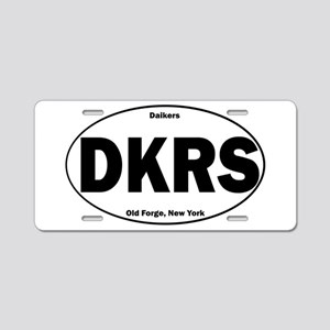 Daikers Euro Aluminum License Plate
