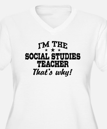 Social Studies Teacher T-Shirt