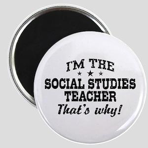 Social Studies Teacher Magnet