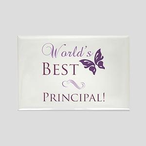 World's Best Principal Rectangle Magnet