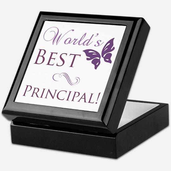 World's Best Principal Keepsake Box