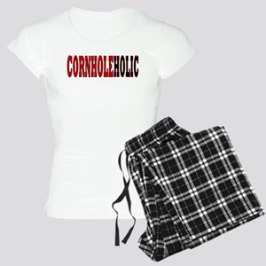 CORNHOLEHOLIC Women's Light Pajamas