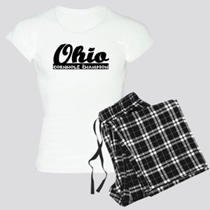 Ohio Cornhole Champion Women's Light Pajamas