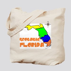Geocache Florida Tote Bag