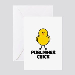 Publisher Chick Greeting Card