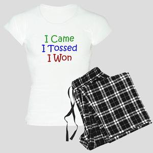 I Came I Tossed I Won Women's Light Pajamas