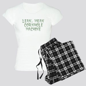 Lean Mean Cornhole Machine Women's Light Pajamas