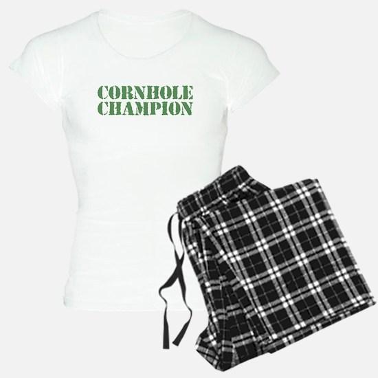 Cornhole Champion Pajamas