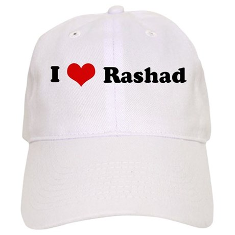 I Love Rashad Cap