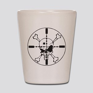 Crosshairs Shot Glass