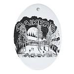 Daikers Logo Ornament (Oval)