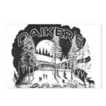Daikers Logo Postcards (Package of 8)