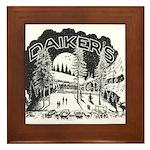 Daikers Logo Framed Tile
