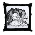 Daikers Logo Throw Pillow