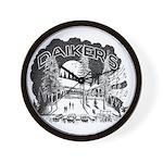 Daikers Logo Wall Clock