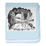 Daikers Logo baby blanket