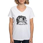 Daikers Logo Women's V-Neck T-Shirt