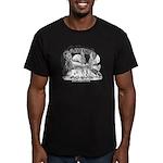 Daikers Logo Men's Fitted T-Shirt (dark)