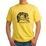 Daikers Logo Yellow T-Shirt