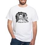 Daikers Logo White T-Shirt