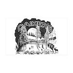 Daikers Logo 38.5 x 24.5 Wall Peel