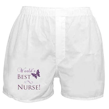 World's Best Nurse Boxer Shorts