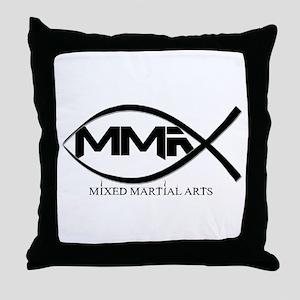 MMA Fish Throw Pillow