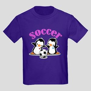 I Like Soccer (3) Kids Dark T-Shirt