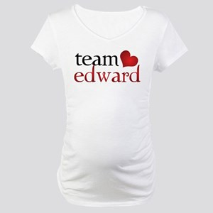 Team Edward Maternity T-Shirt