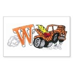 Weatherly Wrecker Sticker (Rectangle 50 pk)